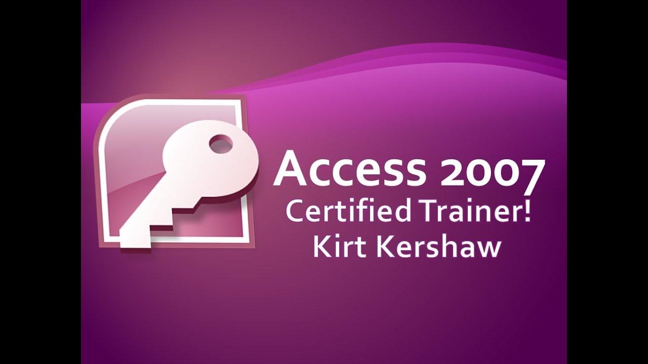 Access 2007 Table: Attachment Field