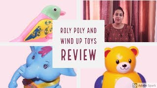 Roly poly and wind up toys review/Baby toys