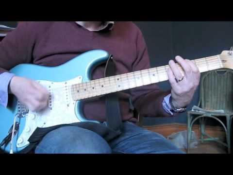 Theme from Shaft - Guitar Tutorial - Boomerang Wah - YouTube