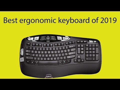 Best Ergonomic Keyboard Of 2019 - Logitech K350 Comfort Wave Keyboard