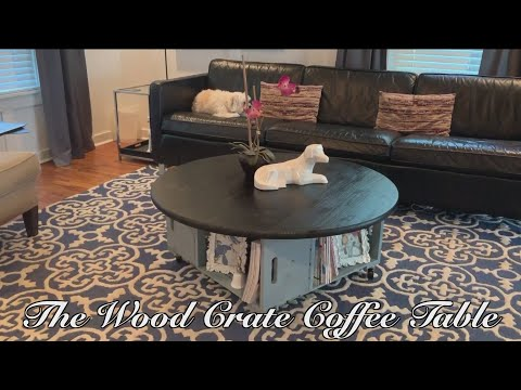 Ozarks FOX AM-Jeremy's DIY Wooden Crate Coffee Table-05/28/19