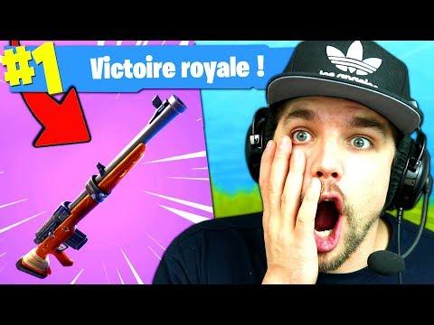"""TOP 1 / NOUVELLE ARME """"Fusil de Chasse"""" FORTNITE: Battle Royale !!"""