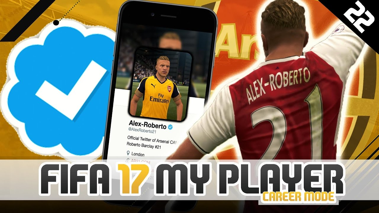 VERIFIED ON TWITTER! | FIFA 17 Career Mode Player w ...