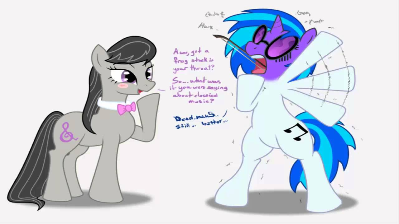 Octavia Vs Vinyl Mlp Song Youtube
