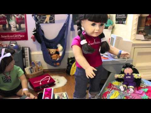 Katya's Doll: An American Girl Stopmotion {AGSM} - For Kkollect's 4th Of July Contest!