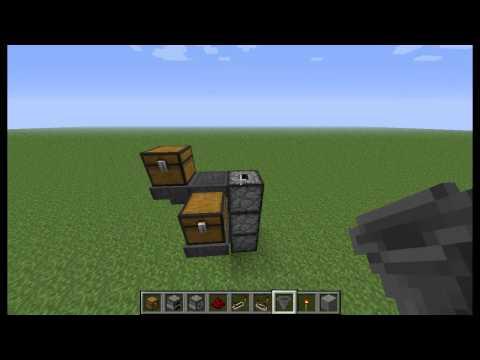 Minecraft - Four à cuisson automatisée