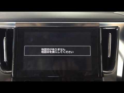 Toyota Vellfire installed Noble multimedia navi system