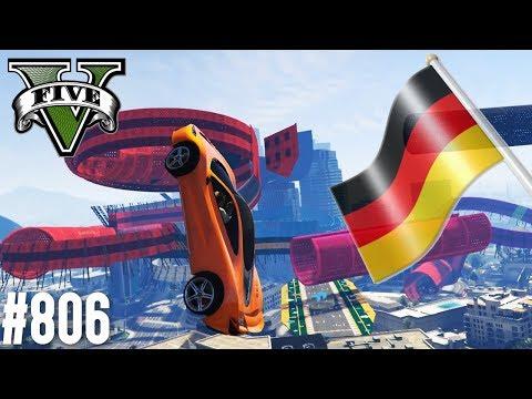 LEVEL GERMAN T20 PARKOUR! (+DOWNLOAD) | GTA 5 - CUSTOM MAP RENNEN
