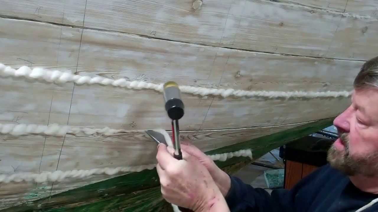 Image result for caulking the seams