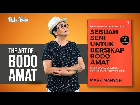 Review Buku: The Art Of.. Bodo Amat | Buka Buku