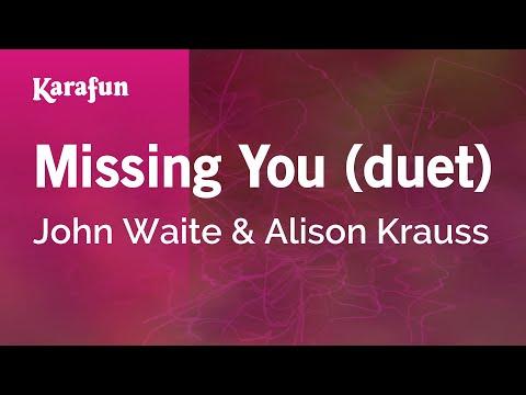 Karaoke Missing You (duet) - John Waite *