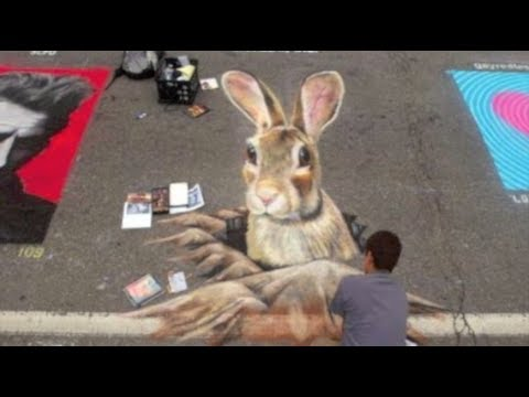 Most Amazing 3D Street Art Illusions – Part 5