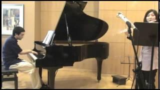 Samantha Fu and Scott Meek play Piazzolla