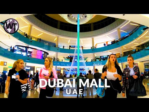 4K Virtual Tour – Dubai Mall Full Coverage – 🇦🇪 United Arab Emirates