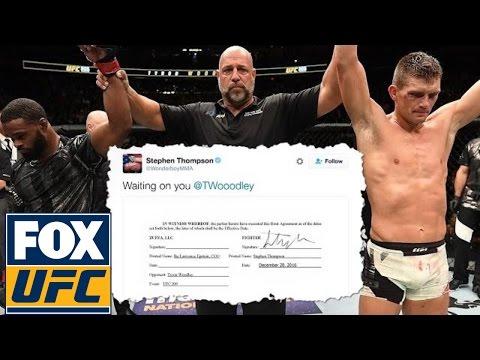 Stephen Thompson explains why he got aggressive on Twitter | @TheBuzzer | UFC ON FOX