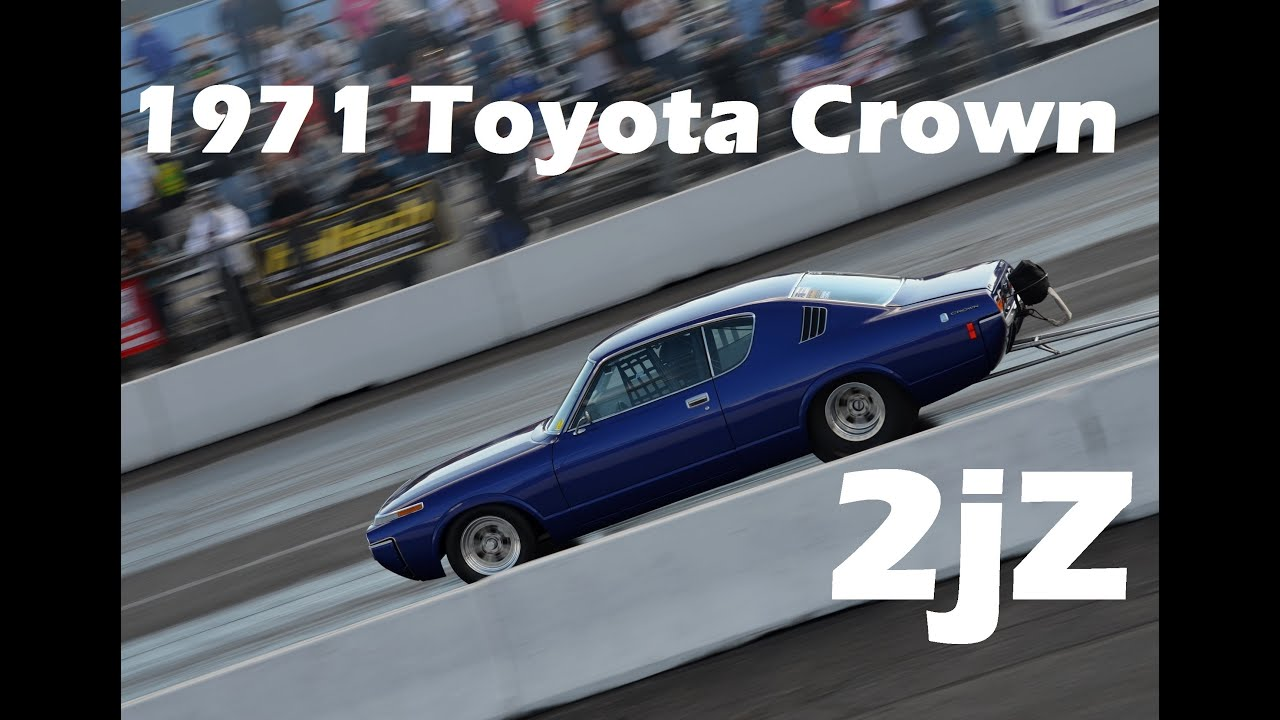 8 second 2JZ Toyota Crown Drag Race - Shawn Cassady - YouTube