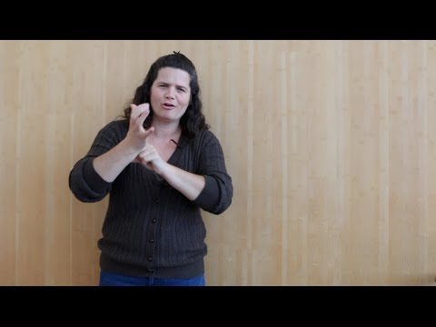 ASL is a language, NOT a tool
