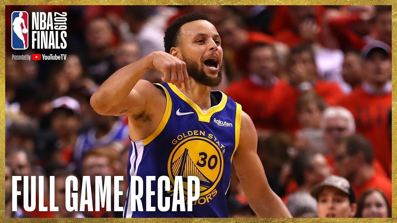 WARRIORS vs RAPTORS   Unbelievable Finish at Scotiabank Arena   NBA Finals Game 5 image