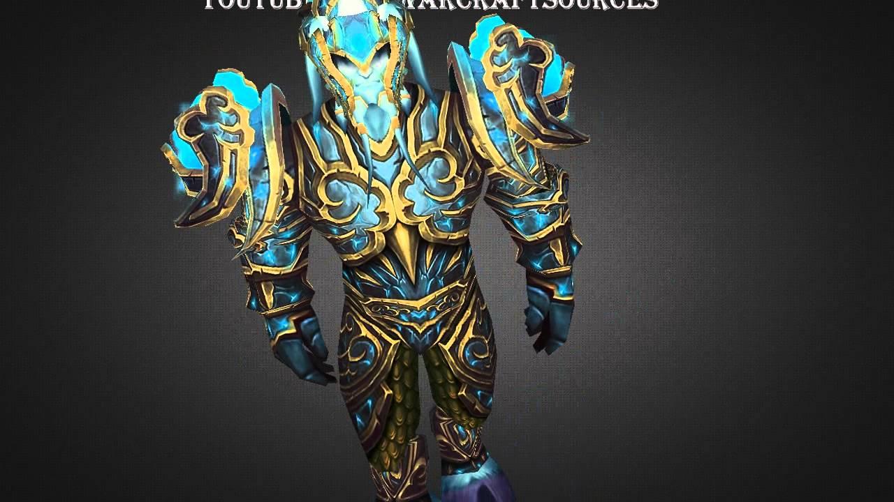 Draenei Paladin Tier 15 Armor - Tier 15 set - Patch 5.2 - YouTube