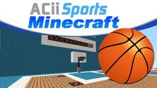 Minecraft Basketball Minigame ACii Sports Thumbnail