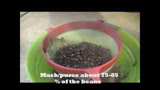 ♥5♥ Haitian  Food: Black Beans Puree With Coconut - Sòs Pwa Nwa Ak Kokoye -sauce Pois