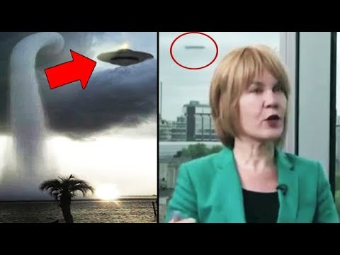 10 Mysterious UFO Sightings Caught On Camera & Live TV! Real UFOs News VIDEOS?