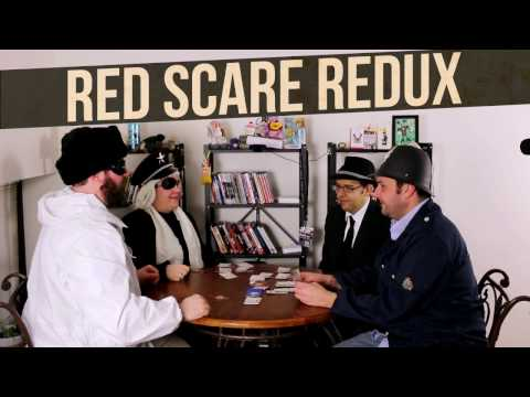 Red Scare Redux Gameplay (Top of Table)