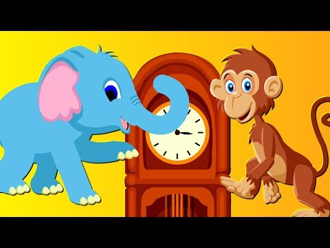 Song for kids Hickory Dickory Dock