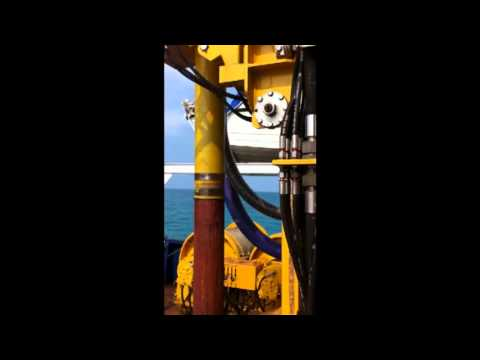 Geotin 3 Survey vessel Counterflush drilling