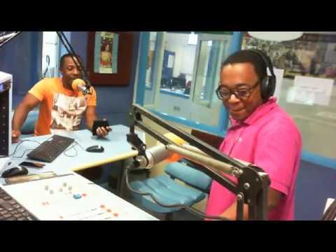 The latin king van Suriname op bezoek in      Radio 10 Magic FM