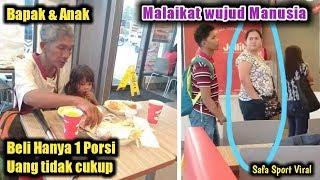 Viral Mp3 Wanita Belikan Makanan pada Seorang Bapak dan Anaknya, Cerita di Baliknya Mengharukan