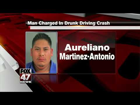 Jackson man charged in drunk driving crash