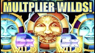 ★CELESTIAL MULTIPLIER WILDS!★ CELESTIAL SUN & MOON RICHES (KONAMI) BIG WIN Slot Machine Bonus
