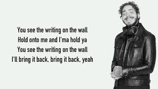 French Montana - Writing on the Wall ft. Post Malone, Cardi B, Rvssian [Full HD] lyrics
