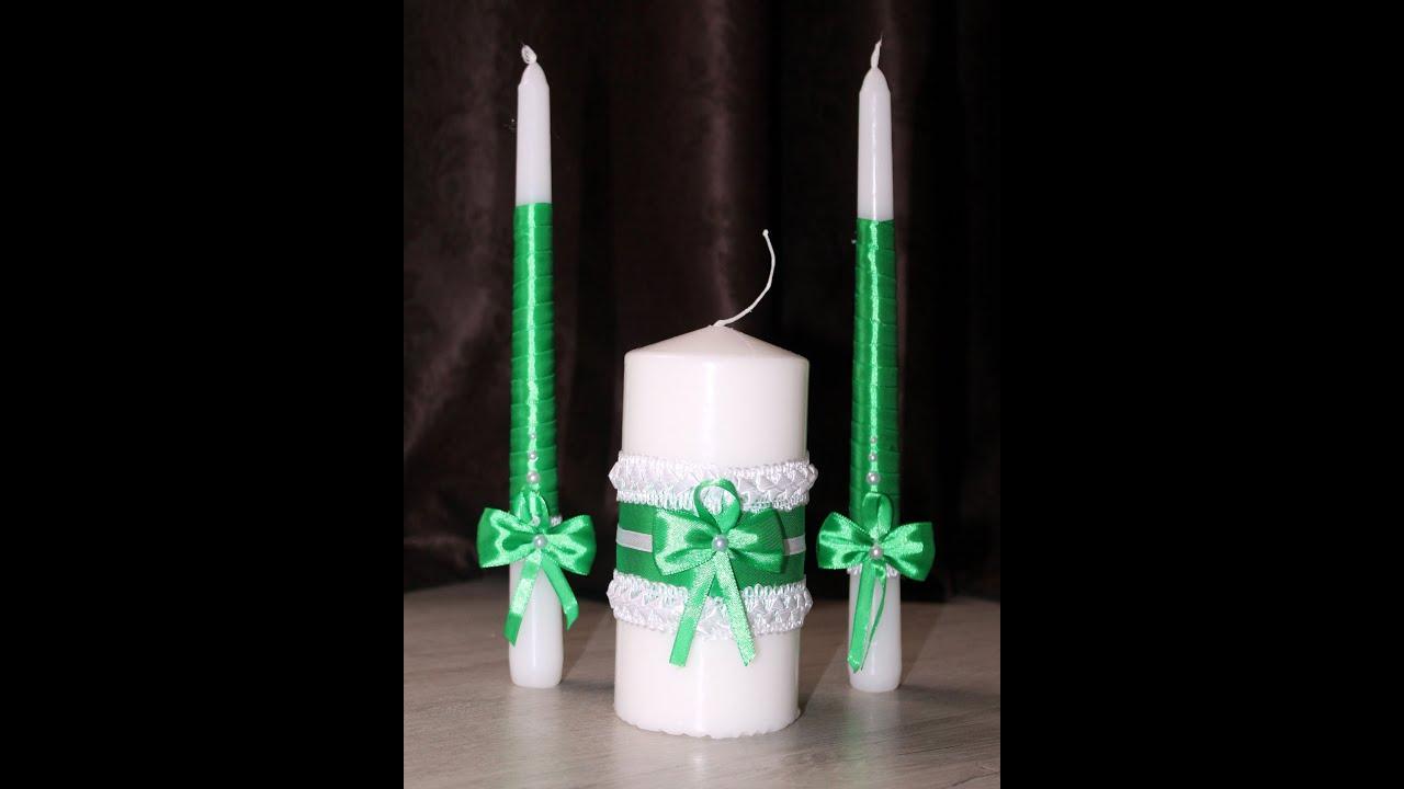Как своими руками сделать свечи на свадьбу своими руками