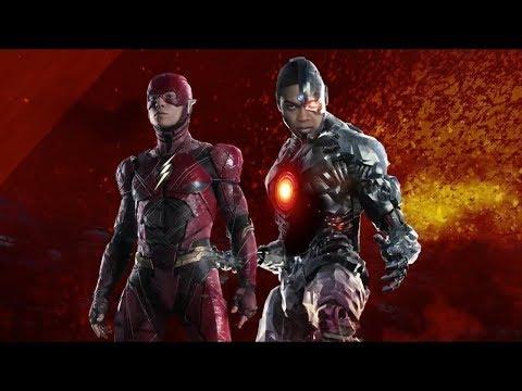 Liga da Justiça - Ezra (Flash) & Ray (Ciborgue)