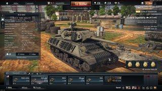 【WarThunder】 M-10駆逐戦車(対戦車自走砲)全改修でテストドライブ