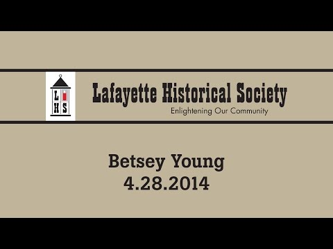 Betsey Young -- April 28th, 2014