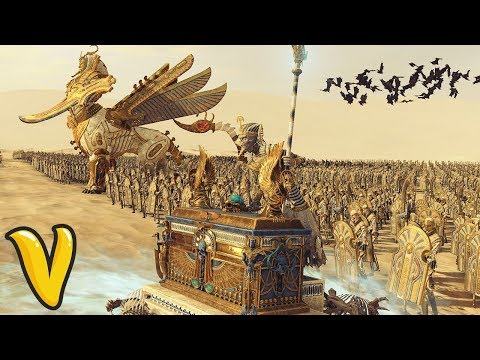 RISE OF THE TOMB KINGS CAMPAIGN DOMINATION! Total War Warhammer 2 Rise of the Tomb Kings Gameplay!