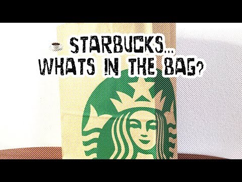 Starbucks... whats in the bag? | No. #082