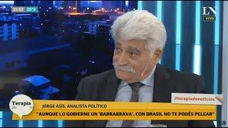 """Jorge Asis volvió picante: """"Alberto se equivocó con Trump, hizo una chiquilinada"""""""