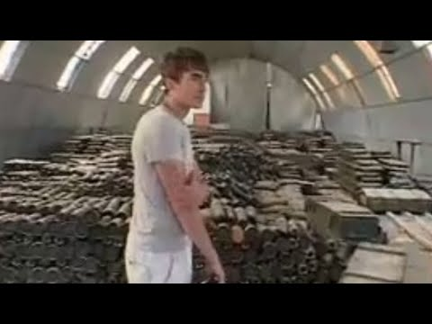 Explosives store in South Ossetia - Holidays in the Danger Zone - Places that don