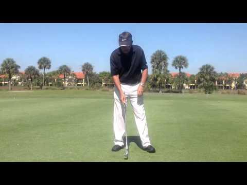 Golf swing weight shift DC