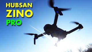 The new Hubsan ZINO PRO Drone - Costs less than the DJI MAVIC MINI
