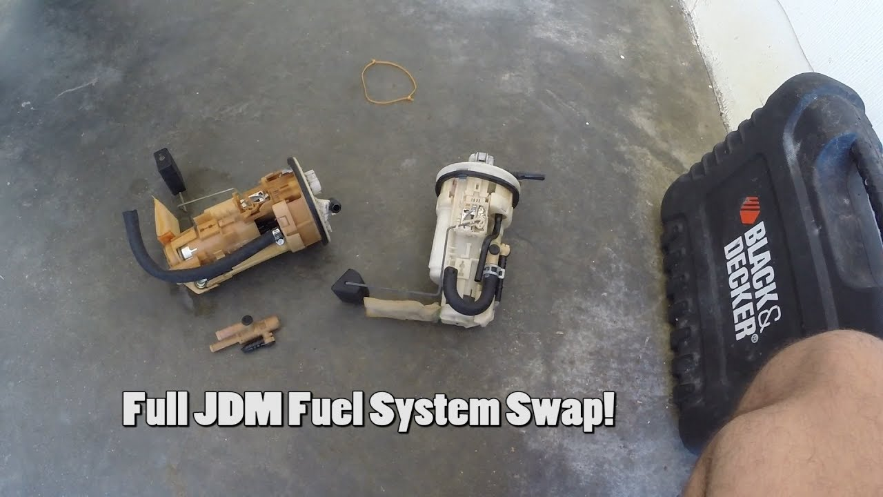 JDM Fuel System Swap into the Turbo IS300!