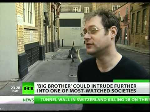 Britain pushes for mass surveillance society