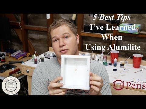 5 Best Tips For Using Alumilite Casting Resin - YouTube