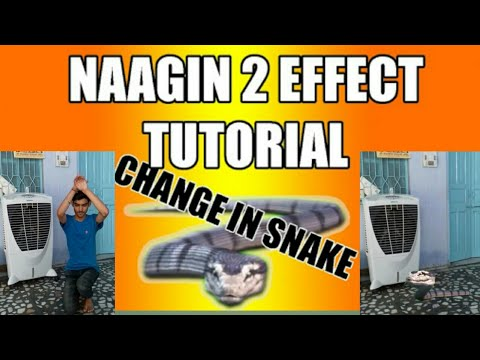 Snake(nagin) effect with kinemaster pro version app  And tutorial coming  soon