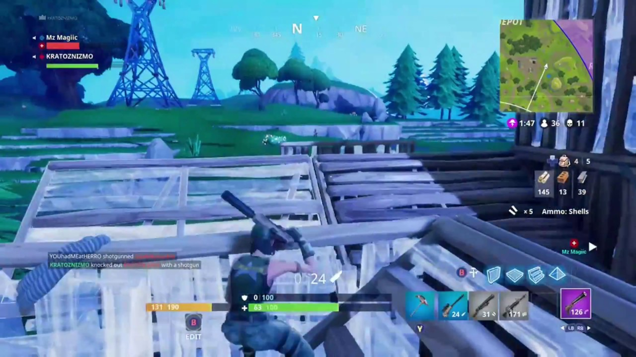 Fortnite The Fastest Player Builder On Console Old Clip New