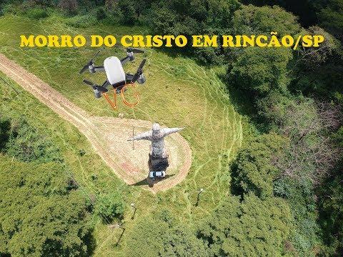 MORRO DO CRISTO EM RINCÃO SP - Drone VG